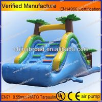 Durable water slide,ultra wide way water slide for adult and kids