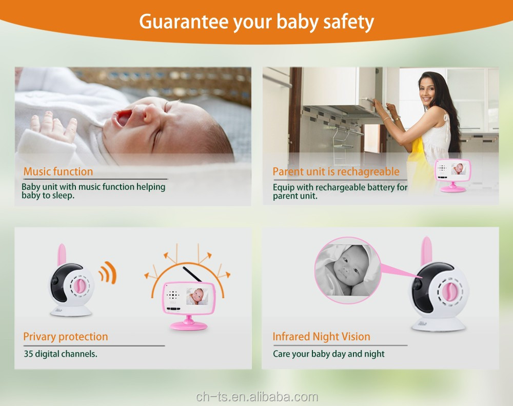 high quality high resolution digital baby monitor