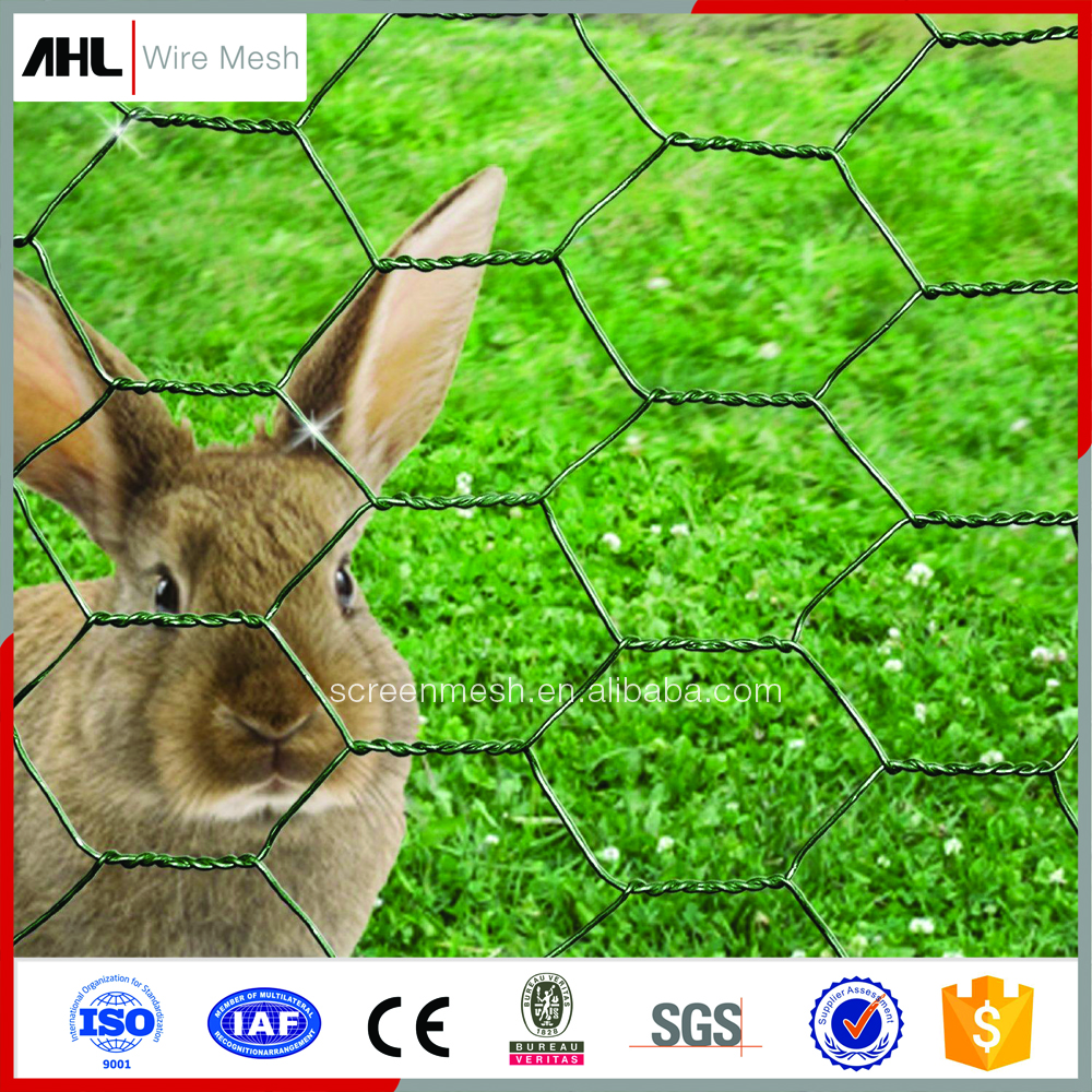 Wholesale Zoo& Cage Wire Mesh Products Galvanized or PVC Coated Chicken Rabbit Wire Mesh Fencing.