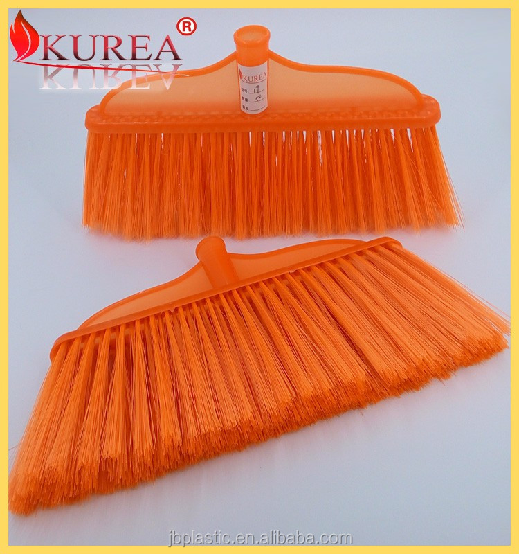 Wholesale indoor PP broom brush heads soft bristle sweep broom