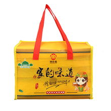Custom printed high quality canvas insulated 6 can cooler bag