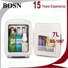 2016 BOSN 8 Liter bule and white cooler and warmer car 12v upright beverage cooler for Picnic