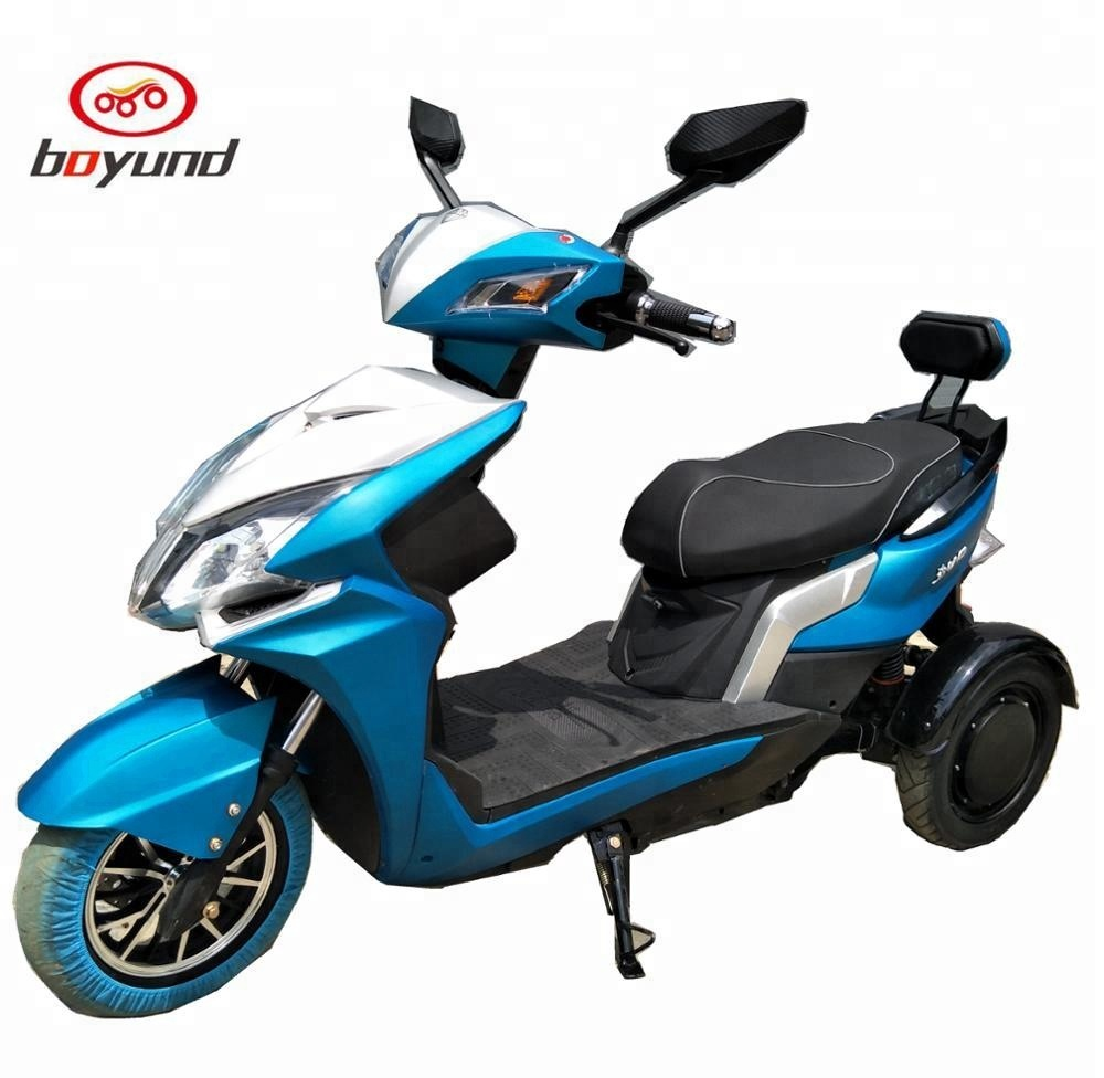 2018 Fashion <strong>Electric</strong> driven 3 wheel Motorcycle