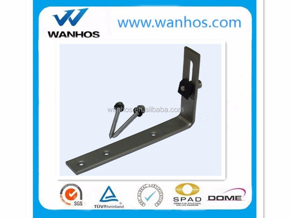2016 Popular Asphalt Shingle Roof Stainless Hook,Solar Mounting System ModuleXiamen