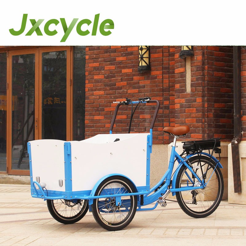JX-T05 cargo tricycle with cabin and box
