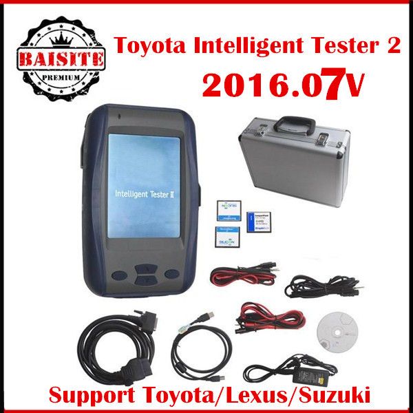 Newest Toyota Denso Intelligent Tester IT2 V2016.07 for Toyota and Suzuki Diagnostic Tool with Oscilloscope