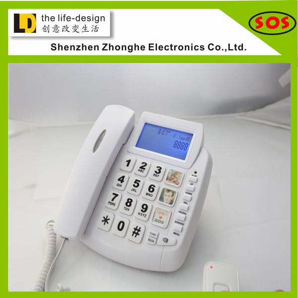 big button emergency one button telephone for senior