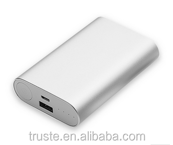 Original Xiaomi Power Bank 10000mAh External Battery xiaomi 10000 Portable Charger for iPhone 4S 5S S5 6plus