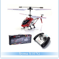 China 3 Channel Metal Mimi RC Drone RTF Helicopter Remote Control Helicopter Syma S107G With Gyroscope