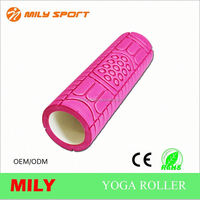precise smooth surface foam yoga roller customized
