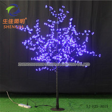 led decoration cherry tree led fake blossom artificial tree for New year