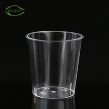 Smart design transparent 1oz raw materials hard juice polystyrene water beer clear disposable plastic tumbler cups