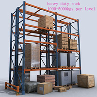 China supplier heavy load factory storage shelves, raw material storage rack, storage rack shelves