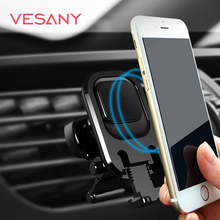Air Vent Magnetic Car Mount Car Phone Holder with Retractable Feet For Iphone Plus