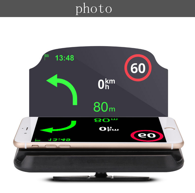 Head Up Display Holder Car Speedometer Projector Stand Auto Hud Glass Projector
