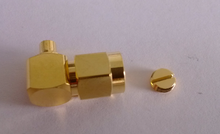 Bulkhead electrical series pcb crimp female rj45 xlr sma connector