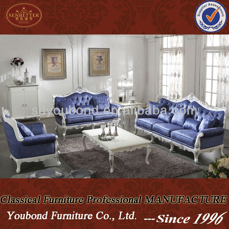 0036 Italy neo classic wooden carved living room sofa set high quality furniture