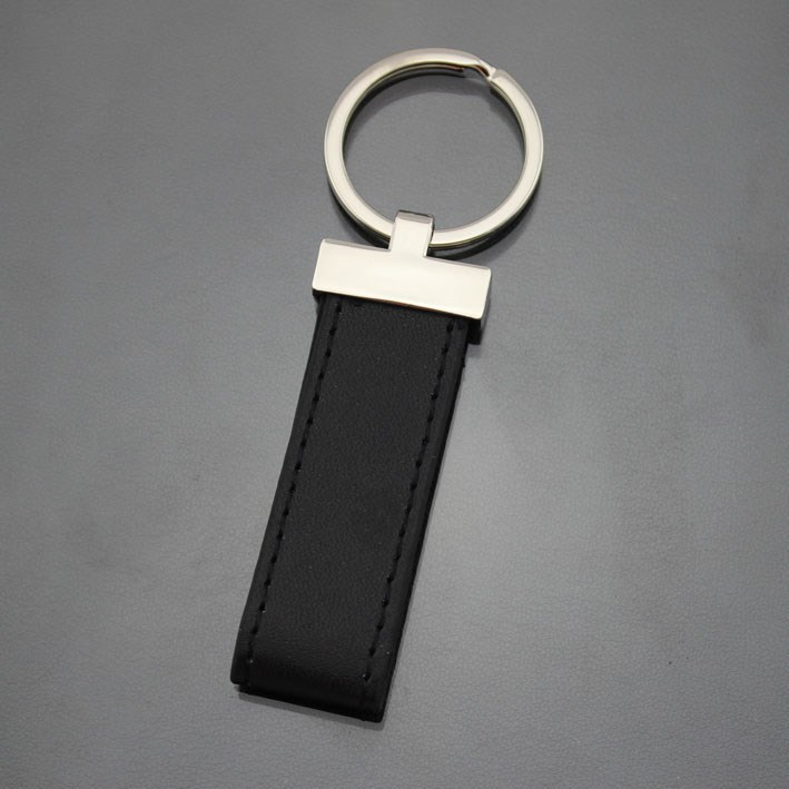 custom leather key ring,promotional leather keychain,printing logo leather key chain