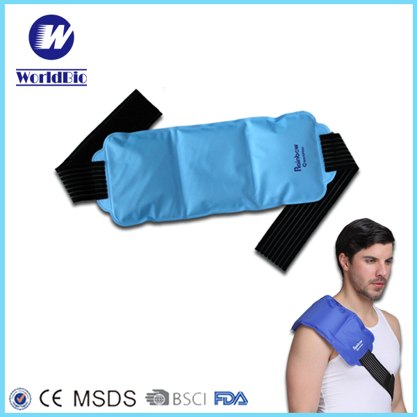 Microwave Gel Hot Cold Pack With Wrap For Knees Physical Therapy