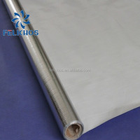 single side aluminum foil woven fabric as roof heat insulation materials