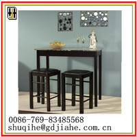 high quality Solid Wooden Round square Dining Table