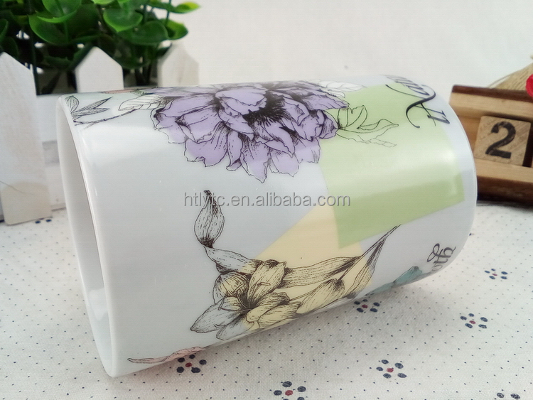Affordable top sell porcelain fat pig mug