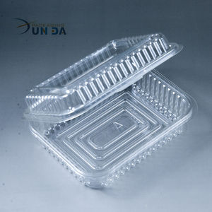 High Quality Factory Price Clear Custom Plastic Packaging Box For Dry Fruit
