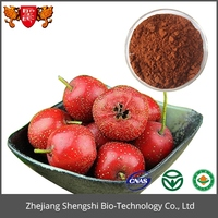 Manufacture Supply Hawthorn Fruit Extract Powdery Hawthorn berry&leaf Extract