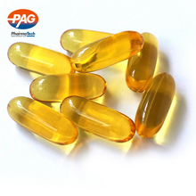 GMP OEM certificate Fish Oil Soft gel in bulk with DHA