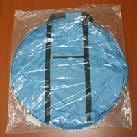 Portable Mitsbishi Pajero Spare Tire Cover,Tire Bag with Handle