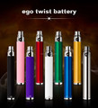 High quality e cigarette twist ego battery variable voltage big vaporizer