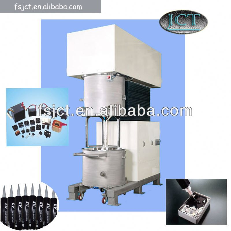 Machine for making silicone sealant