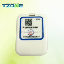 BLE temperature data logger and recorder bluetooth wireless transmit data sensor tag