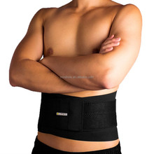 Adjustable neoprene waist trimmer belt for men