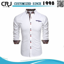 Custom 100%Cotton Latest Shirt Designs for Men 2012
