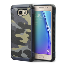 Camouflage Fashion Shockproof Protrctor Phone Case Cover For Samsung Galaxy S7 Edge