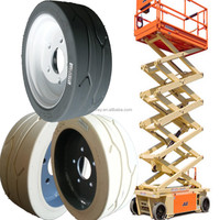 China high quality aerial lift platform vehicle awp parts 12x4 tires with wheels for cherry picker