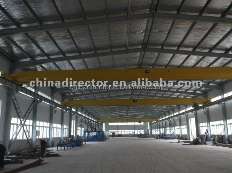 china large span light steel structure prefabricated warehouse and showroom