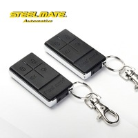 Steelmate 838N one way two carbon fiber metal transmitters car alarm, car alarm system, smart car alarm system