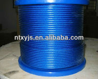 manufacturer quality and hot stainless steel thin wire rope 6x36