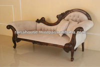 French Furniture - Single end Sofa Right Side