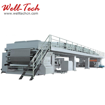 WT-TB800-1800 Computerized High-speed Stamping Foil Coating Machine