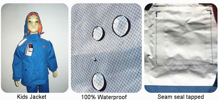 300D oxword with water proof coating working overall