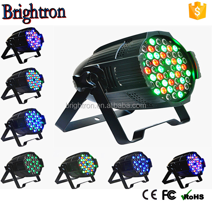 Professional stage equipment 54x3w RGBW Led Par Light Waterproof IP65 outdoor use