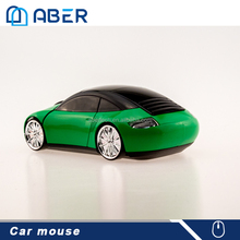 China 1600DPI 2.4GHZ Mini Car Style Wireless Optical Mouse With USB Receiver