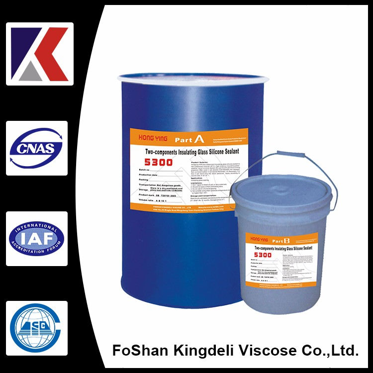 Two components Top Quality Fast Drying Silicone Sealant For Insulating Glaass