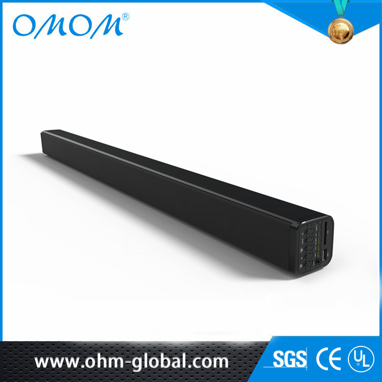 OHM 39-Inch Soundbar Wireless BT Home Audio 3(2.1) Channel Wall Mounted Sound Ba