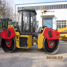 12tons hyraulic double drum road roller