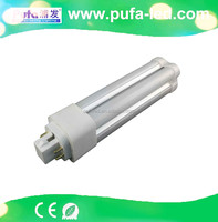 shenzhen Pufa CE RoHS G24 LED PL lamp 360 Degree Beam Angle 13w 4-pin pl led lamp