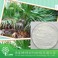 High quality herb extract powder factory low price Saw palmetto powder extract Fatty acid powder